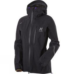 Haglofs Womens L.I.M III Q Jacket True Black