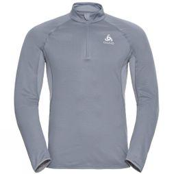 Odlo Mens Zeroweight Ceramiwarm 1/2 Zip Midlayer Tradewinds