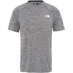 The North Face Mens Impendor Seamless T-Shirt TNF Black White Heather