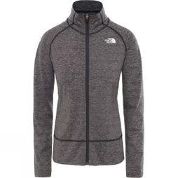 The North Face Womens Motivation Stripe Full Zip Top TNF Black Micro Stripe