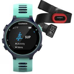 Garmin Forerunner 735XT Run Bundle Midnight Blue/Frost Blue