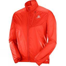 Salomon Mens Fast Wing Jacket Fiery Red