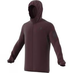 Adidas Mens Response Shell Jacket Dark Burgundy F12