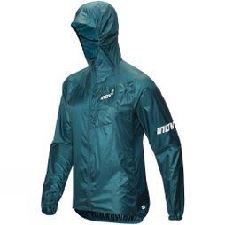 Inov-8 Mens Windshell FZ Jacket Blue Green