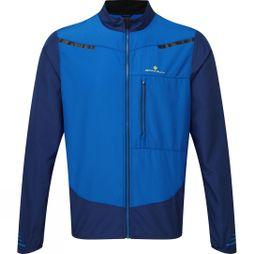 Ronhill Mens Stride Windspeed Jacket Midnight Blue/Azurite