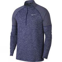 Nike Mens Element Half Zip Top  Obsidian/Blue Void Heather