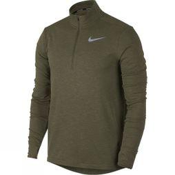 Nike Mens Sphere Element Half Zip Top 2.0  Olive Canvas Heather