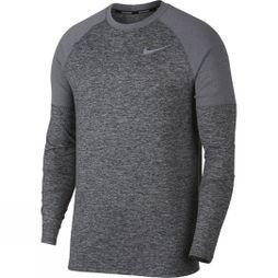 Nike Mens Element Running Crew Dark Grey Heather