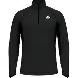 Odlo Mens Zeroweight Warm Midlayer Top Black