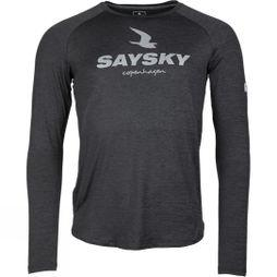 Saysky Unisex Falcon Long Sleeve Dark Grey Melange