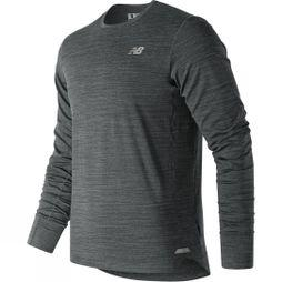 New Balance Men's Seasonless Long sleeve top HTHR CHAR
