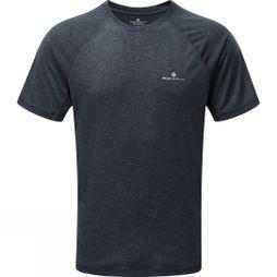 Ronhill Mens Momentum Short Sleeve Tee Charcoal