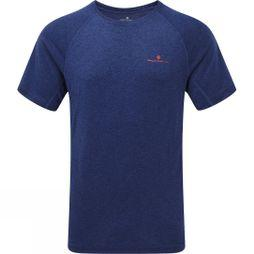 Ronhill Mens Momentum Short Sleeve Tee Midnight Blue