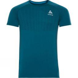 Odlo Mens Top Crew Zeroweight X-Light BL Dark Blue