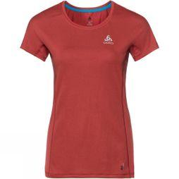 Odlo Womens Top Crew Neck Omnius Light Maroon