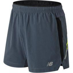 New Balance Mens Impact 5in Shorts Thunder