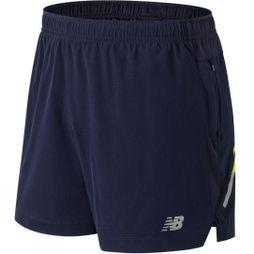 New Balance Mens Impact 5in Shorts Pigment