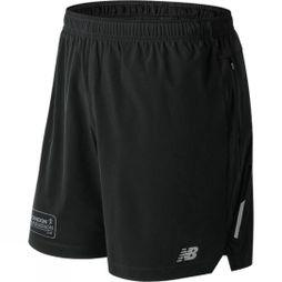 New Balance Mens London Edition Impact 7in Short Black