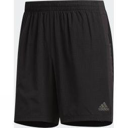 Adidas Mens Supernova Short 7in Black