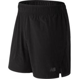 New Balance Mens 7in Shift Short Black