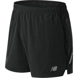 New Balance Men's 5 Inch Impact Short London Marathon Edition Black