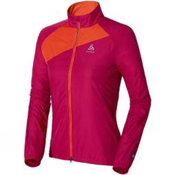 Odlo Women's Jacket Logic Timer Bright Red/Orange
