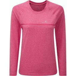 Ronhill Womens Everyday Long Sleeve Tee Azalea Marl