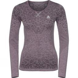 Womens Blackcomb BL Long Sleeve Crew Neck Top
