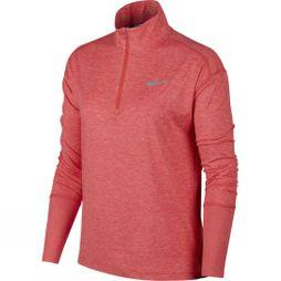 Nike Women's Half-Zip Running Top Ember Glow/Pink Gaze