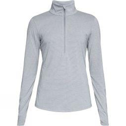 Under Armour Women's Threadborne Streaker Half Zip Steel Light Heather