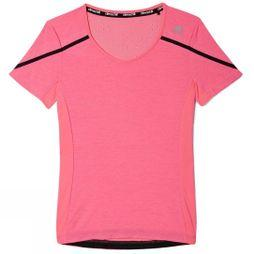 Adidas Women's Adizero Boston Tee Mid Pink/Black