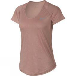 Women's 10k Jacquard Short Sleeve Top