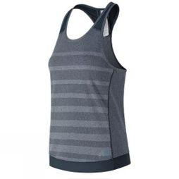 New Balance Womens Q Speed Jacquard Running Tank  Galaxy Heather