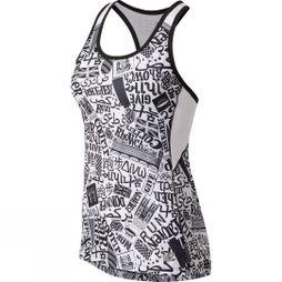New Balance Women's London Edition Printed Ice Singlet Black Multi