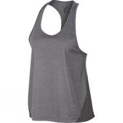 Nike Women's Miler Racer Tank Gunsmoke/Heather
