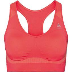 Odlo Seamless High Sports Bra Hot Coral Melange
