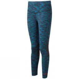 Ronhill Womens Infinity Tights Deep Cyan/Hot Pink