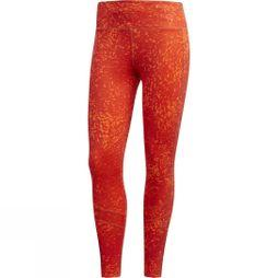 Womens How We Do 7/8 Printed Tights