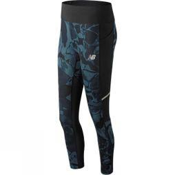 New Balance Womens Printed Impact Tights North Sea