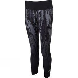 Ronhill Womens Momentum Crop Tights Grey Acrylic