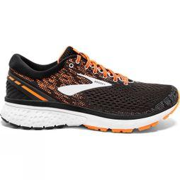 Brooks Mens Ghost 11 Wide  Black/Silver/Orange