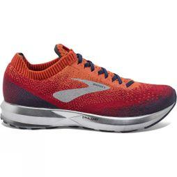 Brooks Mens Levitate 2 Orange/Red/Navy
