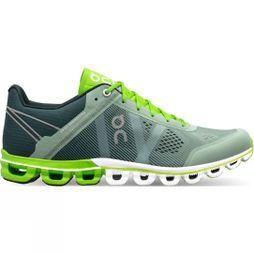 On Mens Cloudflow Moss/Lime