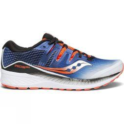 Saucony Mens Ride ISO White/Blue/ViziRed