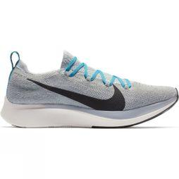 Nike Mens Zoom Fly Flyknit Wolf Grey/Black-Blue Fury-Phantom