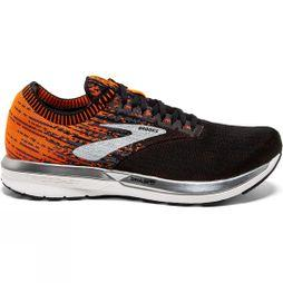 Brooks Mens Ricochet Black/Orange/Ebony
