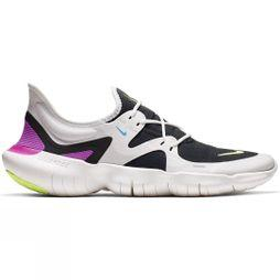 Nike Men's Free RN 5.0 SUMMIT WHITE/VOLT GLOW-BLACK-BLUE HERO