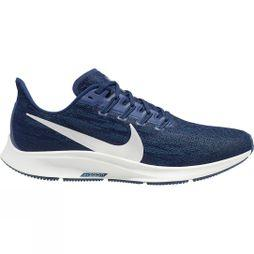 Nike Men's Air Zoom Pegasus 36 BLUE VOID/METALLIC SILVER-COASTAL BLUE
