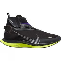 Nike Men's Zoom Pegasus Turbo Shield Waterproof BLACK/METALLIC SILVER-VOLTAGE PURPLE