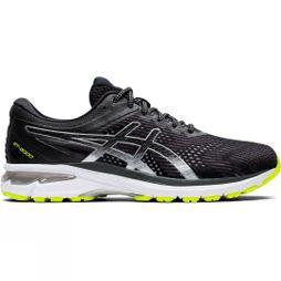 Asics Mens Gel GT2000 v8 LS BLACK/PURE SILVER